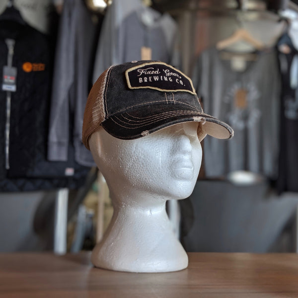 Fixed Gear Distressed Retro Hat