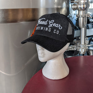 Fixed Gear Font Trucker Hat