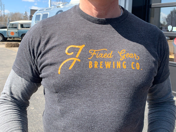 Fixed Gear Brewing T-Shirt (T in a can)