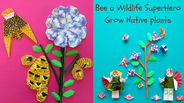 Bee a Wildlife Super Hero, Grow native plants