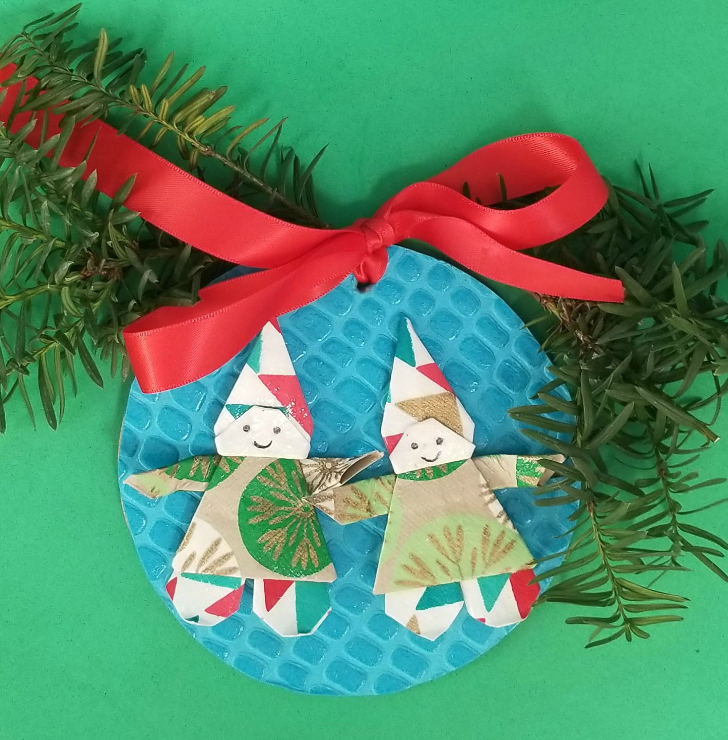 DIY Christmas Ornament Kit - Snowman-Elves-Angel