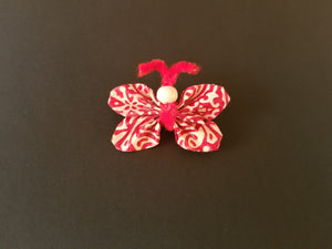 make your own butterfly brooch pin