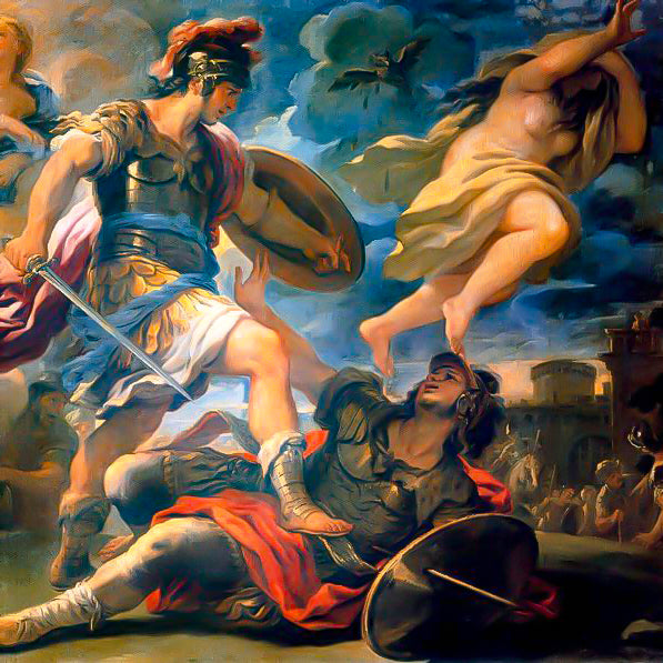 Aeneas v Turnus - The final showdown - The Roman prequel series – Part 11