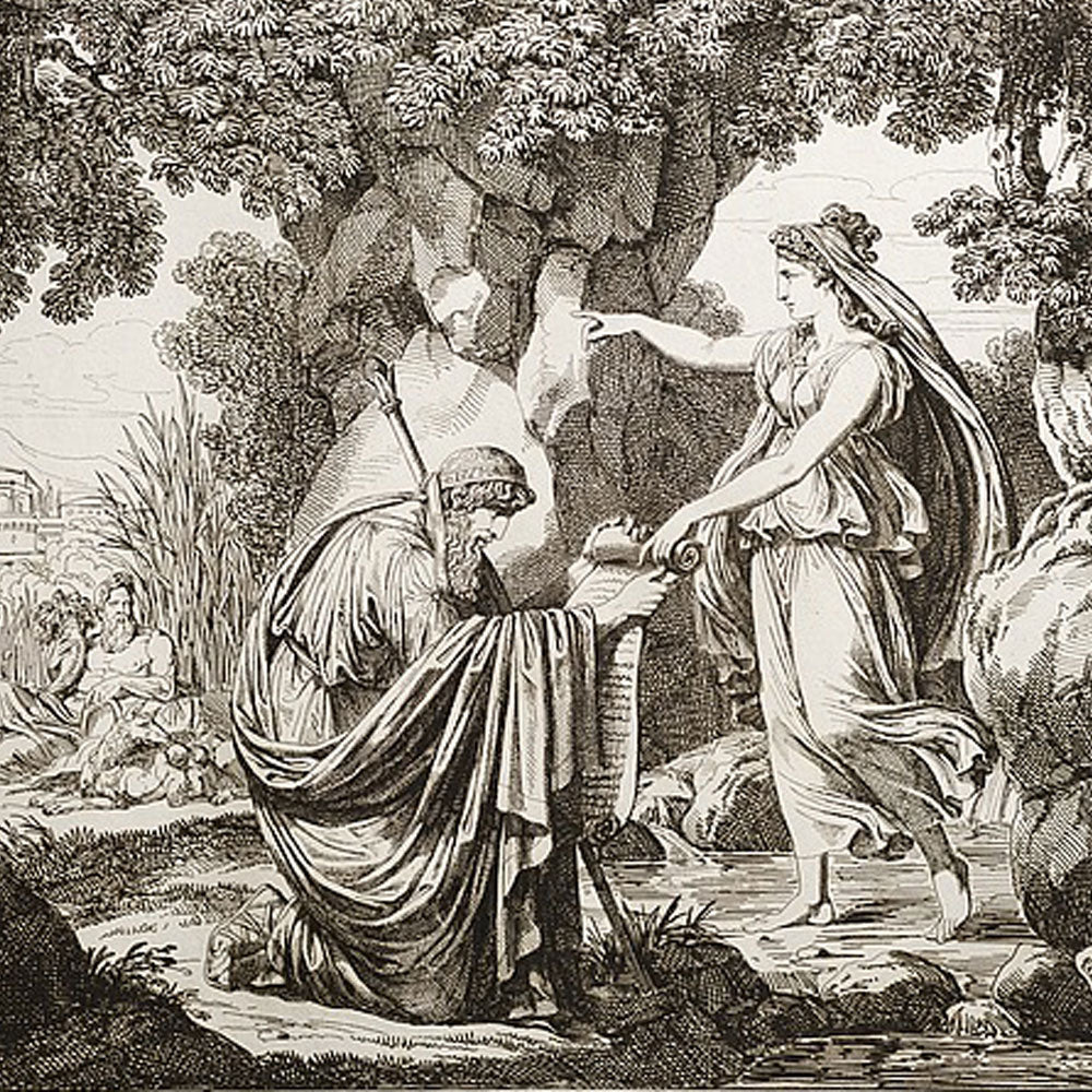 Numa Pompilius - the King who Seduced a Goddess and Introduced Virgin Priestesses