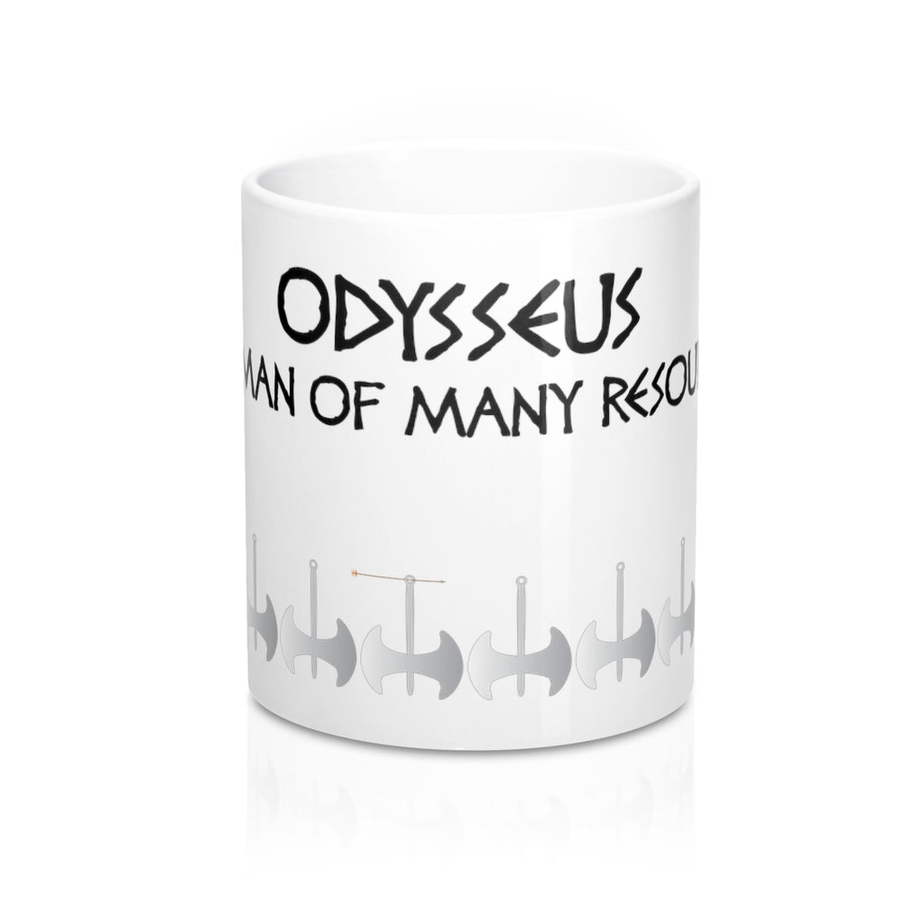 "The Axes of Odysseus Alternative ""Full-metal Axes"" - Mug 11oz (0.33 l)"