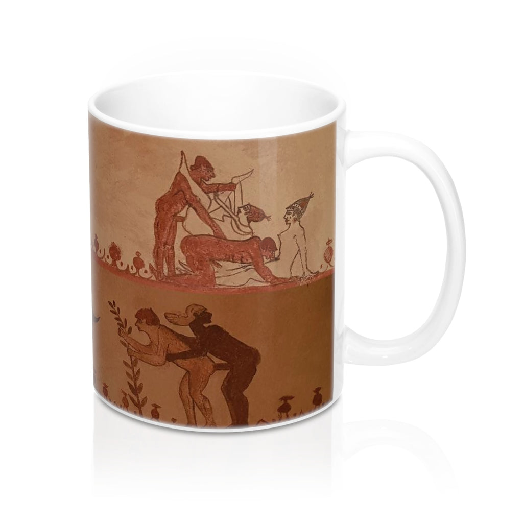 The Tomb of the Bulls  Frescoes Mug 11oz (0.33 l)
