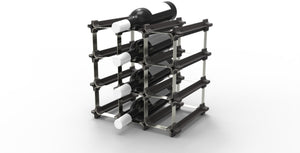 NOOK 9 Bottle Metal/Plastic Wine Rack