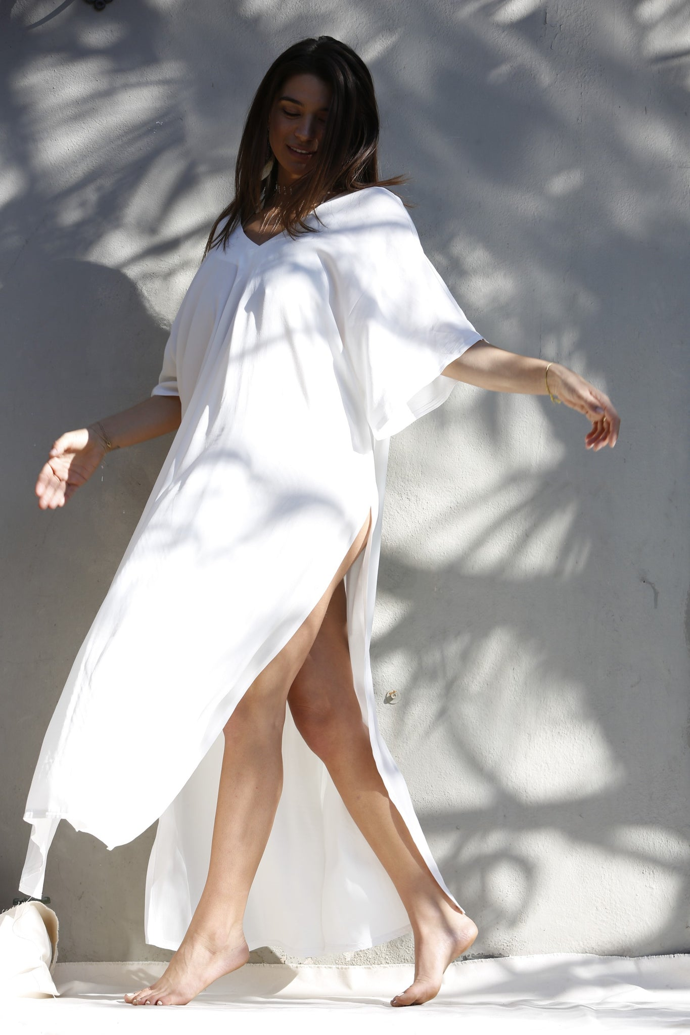 SOLD OUT - Kahlo Kaftan - Ceremony White