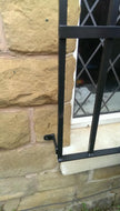 Window security grille for garage, office and home - www.sheffarc.com