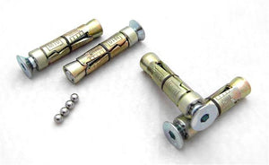 Anti-theft Countersunk, Dome head Security Bolts Fixings M8 M10 for Masonry / Brick - www.sheffarc.com