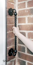 Rope effect mobility aid for elderly / disability, grab handle / rail / bar - style 11 - www.sheffarc.com
