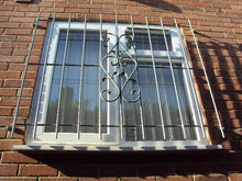 Window security grilles for garage, office and home, Raised or Flat Fixed