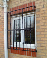 Ornamental Window Security Grille for garage, office, home - www.sheffarc.com