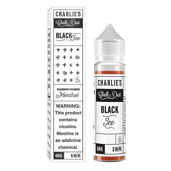 Black Ice Menthol by Charlie's Chalk Dust - Vape Factory NZ - Vape Store New Zealand