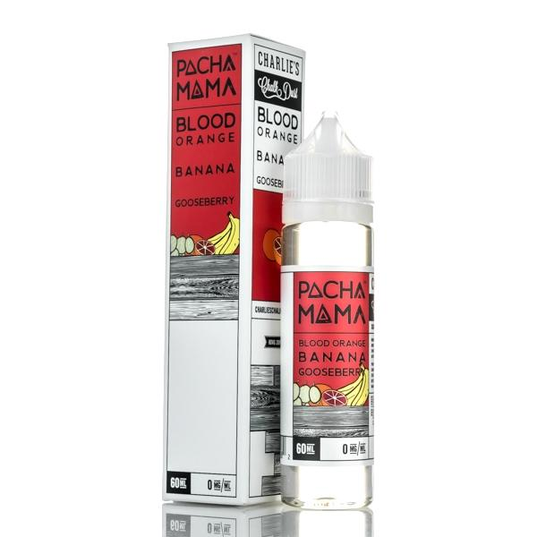 Blood Orange Banana Gooseberry PACHAMAMA by Charlie's Chalk Dust - Vape Factory NZ - Vape Store New Zealand