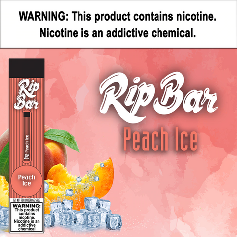 Rip Bar - Peach Ice
