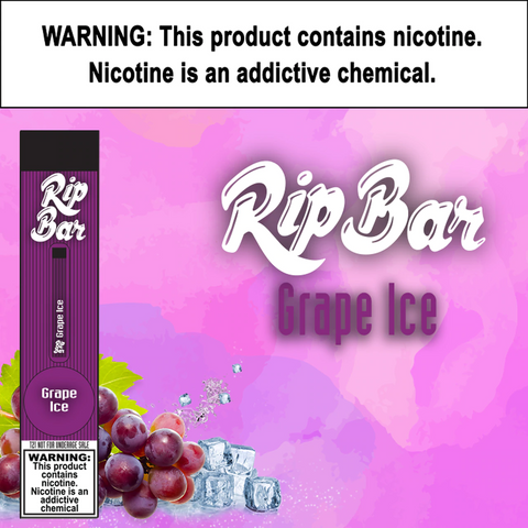 Rip Bar - Grape Ice