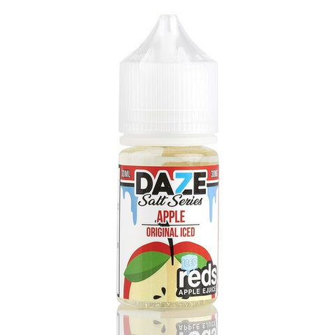 7DAZE Reds Apple Salts - Reds Apple original iced