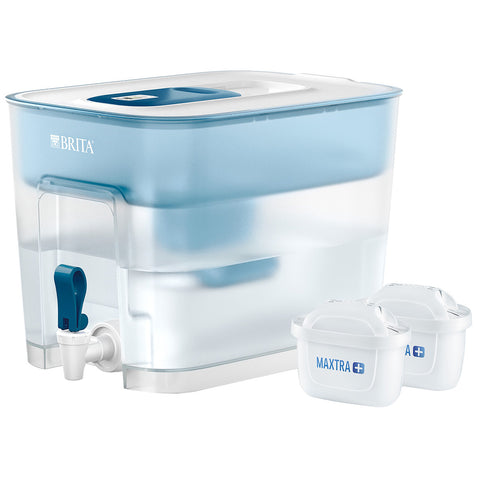BRITA Flow Cask, 8.2L, plus 2x MAXTRA+ Filters, 1037280