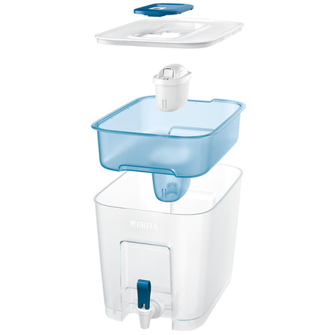Image of BRITA Flow Cask, 8.2L, plus 2x MAXTRA+ Filters, 1037280