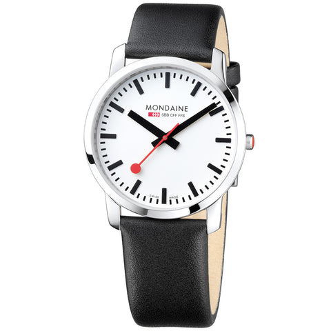 Image of Mondaine Men's Swiss Railway Watch A638.30350.11BB