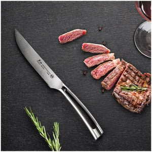 Cangshan N1 Series German Steel Forged 4-Piece Steak Knife Set