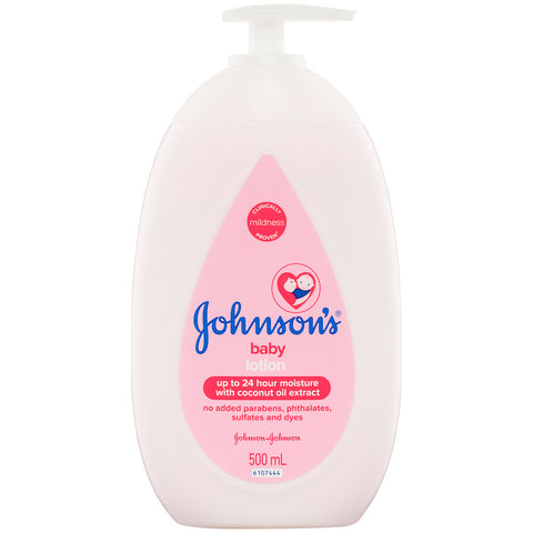 Image of Johnson's Baby Lotion 2 x 500ml