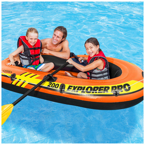 Image of Intex Explorer Pro 200 Boat Set