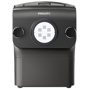 Philips Original Pasta & Noodle Maker, 4 shaping mouths, Black, Avance Collection, HR2375/13