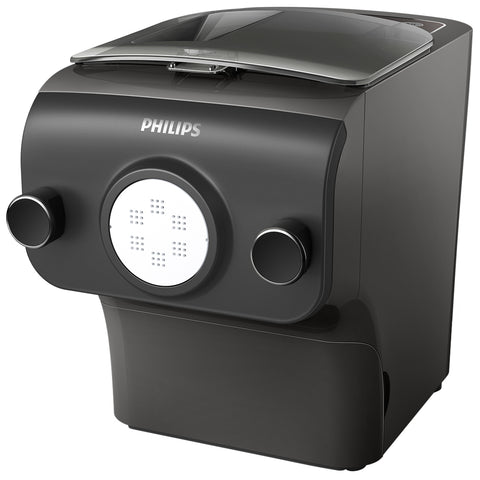 Philips Original Pasta & Noodle Maker, 4 shaping mouths, Black, HR2375/13