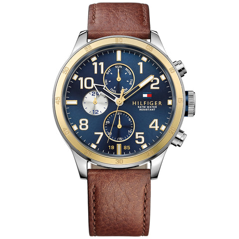 Tommy Hilfiger The Trent Men's Chronograph Watch, 1791137, 46mm