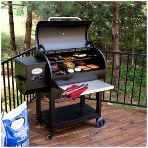 Louisiana Grills Wood Pellet Grill & Smoker, Black, LG900C2