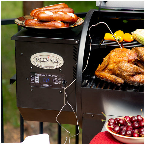 Image of Louisiana Grills Wood Pellet Grill & Smoker, Black, LG900C2