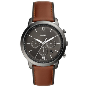Fossil Neutra Brown Chronograph Men's Watch FS5512