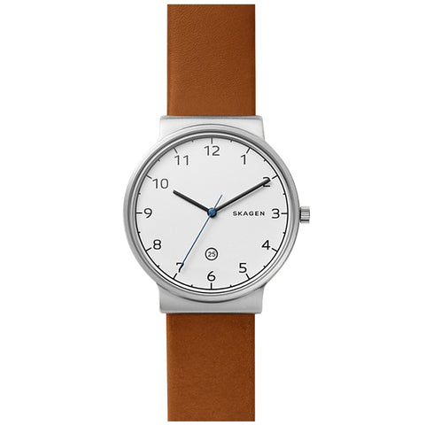 Skagen Ancher Brown Analogue Men's Watch SKW6433