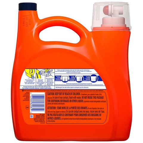 Image of Tide Heavy Duty Laundry Liquid 3.40L