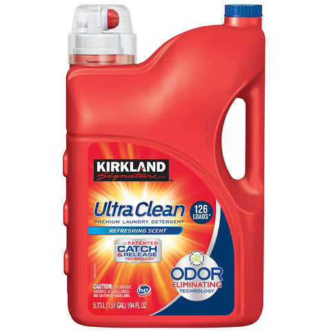 Image of Kirkland Signature Ultra Clean Laundry Detergent 5.73L