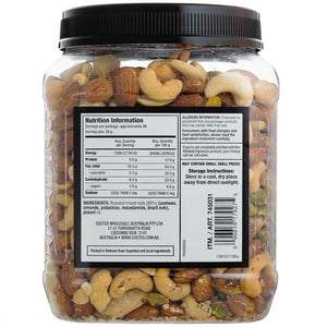 Kirkland Signature Extra Fancy Unsalted Mixed Nuts 1.13kg x 2