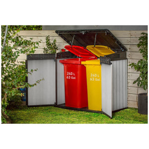 Keter Elite Store Horizontal Storage Shed