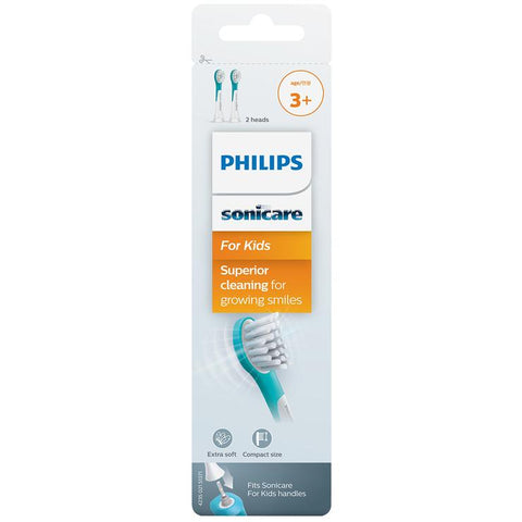 Philips Kids Sonicare Brush Heads 2pk (3+ Years)
