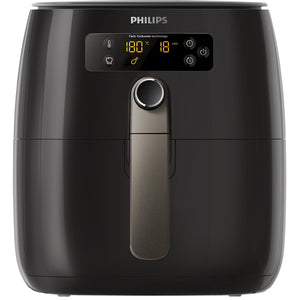 Philips Twin Turbostar Digital Airfryer With Lid, Black, HD9742/93