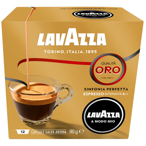 Lavazza A Modo Mio Qualita Oro Coffee Capsules 6x16pk + $10 Lavazza Jolie Coffee Capsule Machine