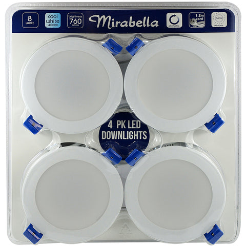 Image of Mirabella LED Downlights 4pk