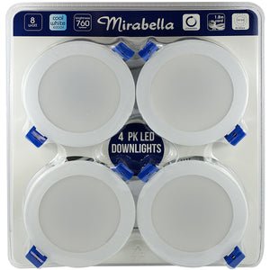 Mirabella LED Downlights 4pk