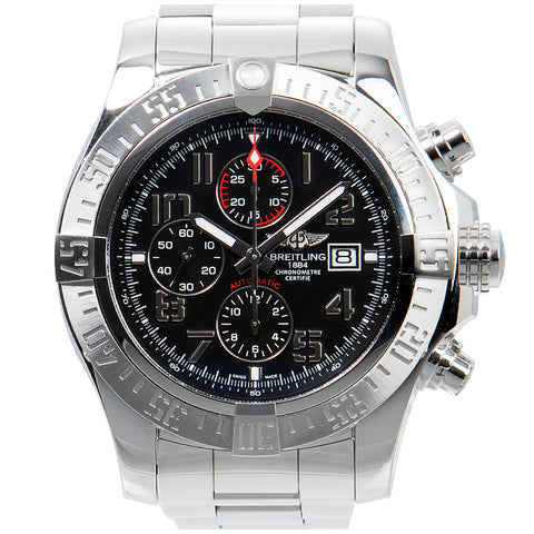Image of Breitling Super Avenger II Men's Watch, A1337111/BC28, 168A