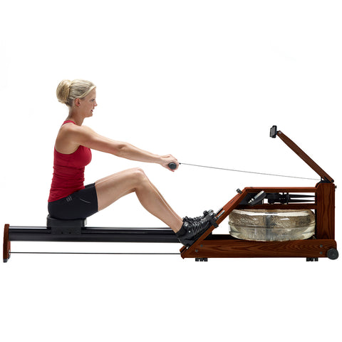 Image of Nohrd A1 Heritage Rower with Tablet or Phone Holder