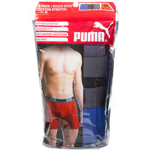 Puma Men's Boxer Brief 3pk