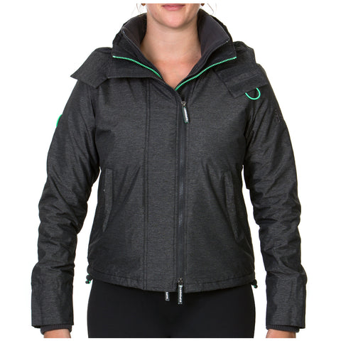 Image of Superdry Women's Arctic Hood Popzip Windcheater