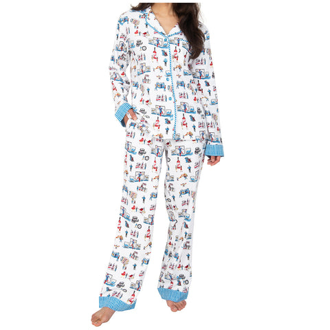 Image of Munki Munki Costco Pyjama Set
