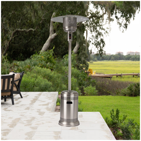 Fire Sense Commercial Patio Heater, 232cm, Stainless steel, 61629